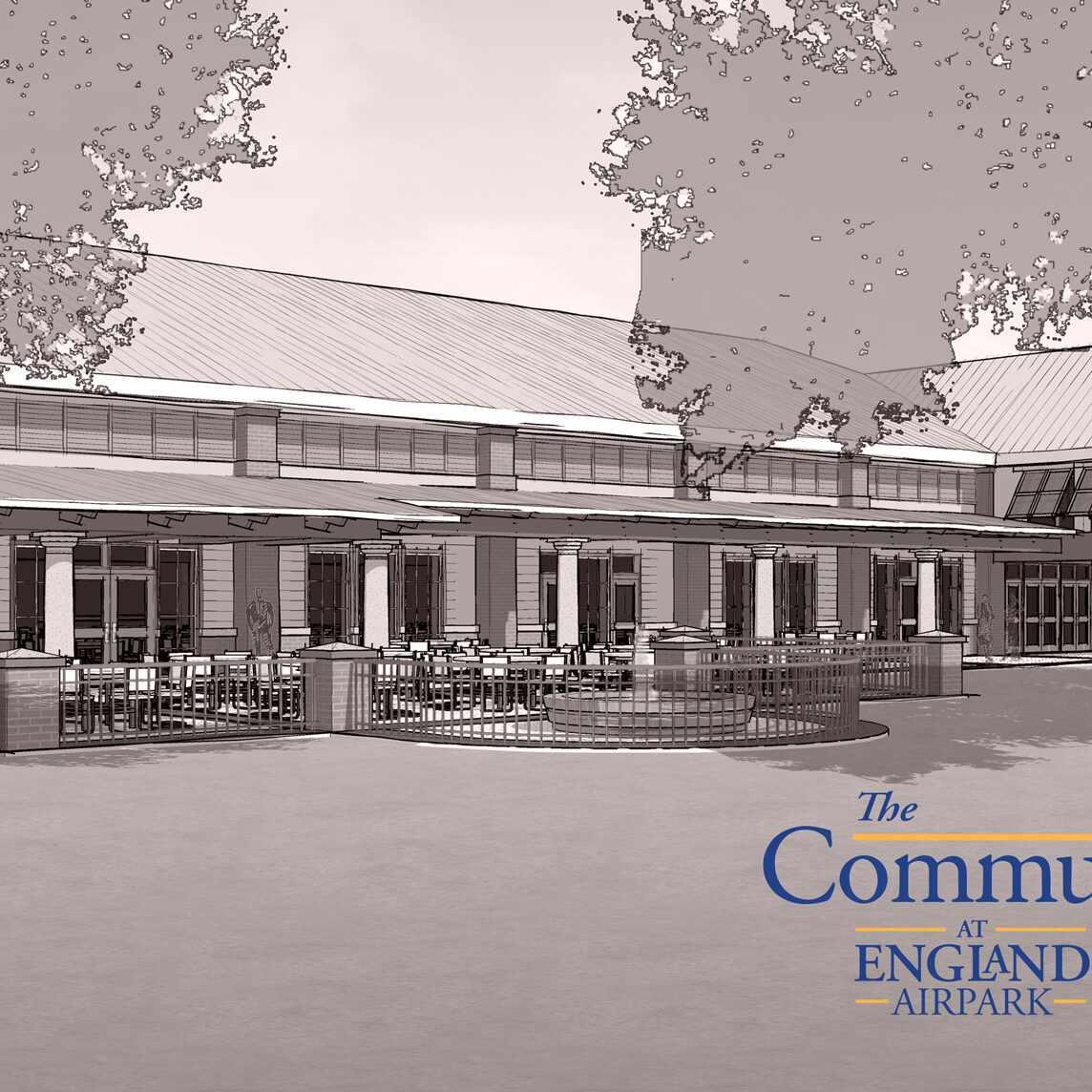Community Center at England Airpark